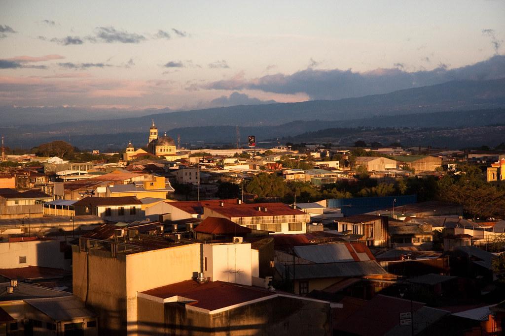 Sunset at San Jose, Costa Rica