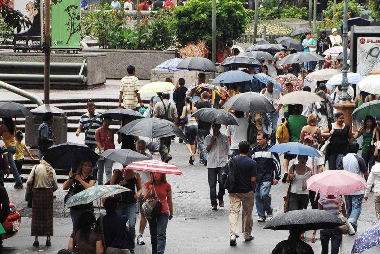 Costa Rica During the Rainy Season